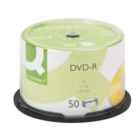 Q-Connect DVD-R 4.7GB 16x 50-pack Cakebox