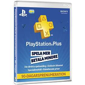 Sony PlayStation Plus 3 Month Subscription Card
