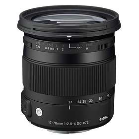 Sigma 17-70/2.8-4.0 DC HSM Contemporary Macro for Sony A