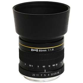 Opteka 85/1.8 for Canon