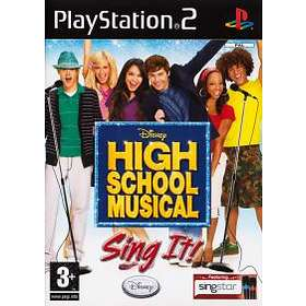 Disney High School Musical: Sing It! (PS2)
