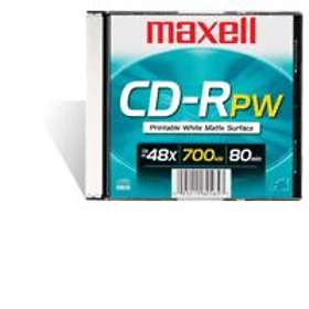 Maxell CD-R 700MB 48x 10-pakning Jewelcase