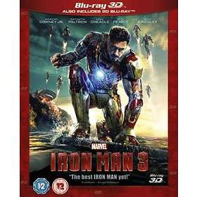 Iron Man 3 (3D) (UK)