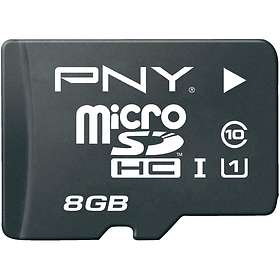 PNY High Performance microSDHC Class 10 UHS-I U1 8GB
