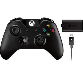 Microsoft Xbox One Wireless Controller + Play & Charge (Xbox One) (Original)