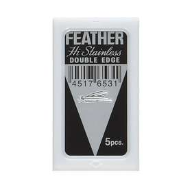 Feather Double Edge 5-pack