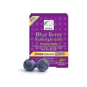 New Nordic Blue Berry Eyebright Plus 30 Tablets