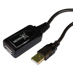 Cables Direct Active USB A - USB A M-F 2.0 15m