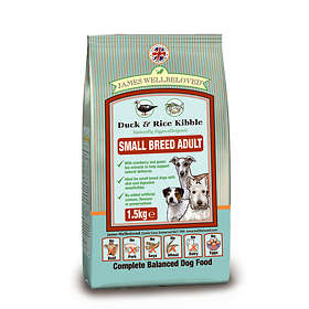 James Wellbeloved Dog Adult Small Breed Duck & Rice 1.5kg