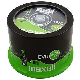 Maxell DVD+R 4,7GB 8x 50-pack Spindel