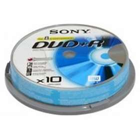 Sony DVD+R 4,7GB 10-pakning Spindel