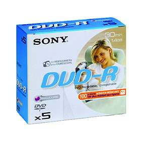 Sony DVD-R 8cm 1,4GB 5-pack Jewelcase