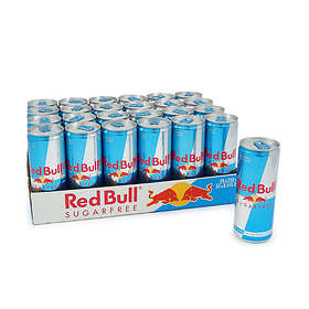 Red Bull Sugar Free Burk 0,25l 24-pack
