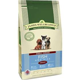James Wellbeloved Dog Adult Small Breed Fish & Rice 1.5kg