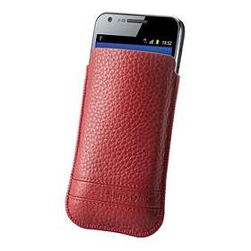 Samsonite Slim Classic Leather Sleeve L