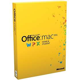 Microsoft Office Mac 2011 Home & Student Nord (PKC)