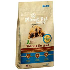Planet Pet Dog Puppy Chicken & Rice 3kg