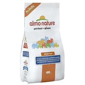 Almo Nature Cat Holistic Adult White Fish & Rice 0.4kg