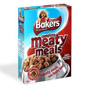 Purina Bakers Meaty Meals Adult Beef 1kg