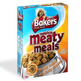 Purina Bakers Meaty Meals Adult Chicken 1kg