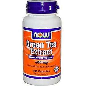 Now Foods 400mg Green Tea Extract 100 Capsules