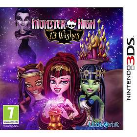Monster High: 13 Wishes (3DS)