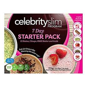Celebrity Slim 7 Day Starter 0.055kg 16pcs