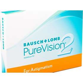 Bausch & Lomb PureVision 2 for Astigmatism (3-pack)