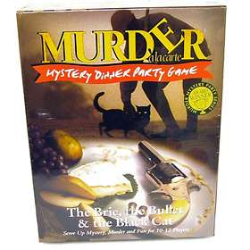 Paul Lamond Games Murder A La Carte: The Brie, the Bullet & the Black Cat