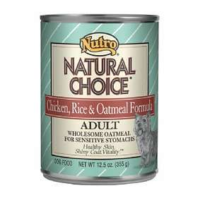 Nutro Dog Can Natural Choice Adult Chicken & Rice 0.335kg