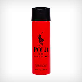 Ralph Lauren Polo Red Hair & Body Wash 200ml