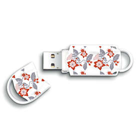 Integral USB Xpression Pattern 16GB