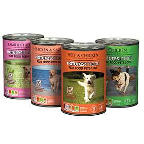 Natures Menu Dog Cans Multipack 12x0.4kg