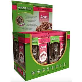 Natures Menu Cat Pouches Adult Beef & Chicken 12x0.1kg
