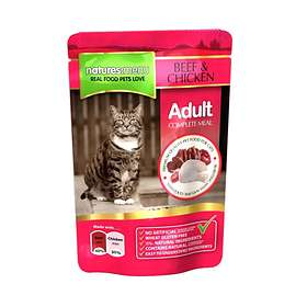Natures Menu Cat Pouches Adult Beef & Chicken 0.1kg