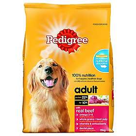 Pedigree Adult Dry Beef 15kg