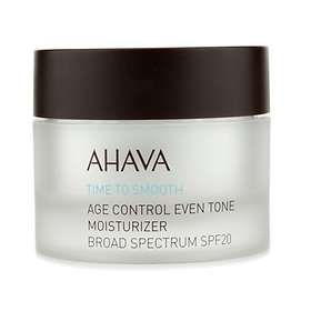 AHAVA Time To Smooth Age Control Even Tone Moisturizer SPF20 50ml