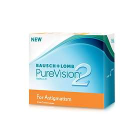 Bausch & Lomb Purevision 2 for Astigmatism (6-pakning)