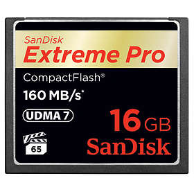 SanDisk Extreme Pro Compact Flash 160MB/s 16GB