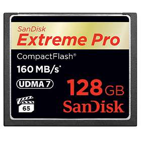 SanDisk Extreme Pro Compact Flash 160MB/s 128GB