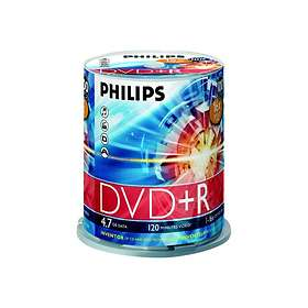 Philips DVD+R 4,7GB 16x 100-pack Spindel