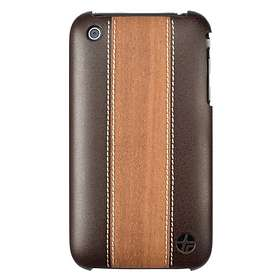 Trexta Snap On Wood & Leather for iPhone 3G/3GS