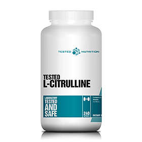 Tested Nutrition Citrulline Malate 240 Capsules