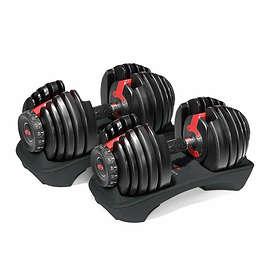Bowflex SelectTech 552i Adjustable Dumbbells 2x2-24kg