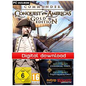 Commander: Conquest of the Americas - Gold Edition (PC)