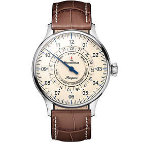 MeisterSinger Pangaea Day Date PDD903 Leather