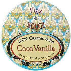 Figs & Rouge Coco Vanilla Lip Balm Pot 17ml