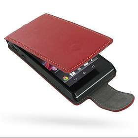 PDair Leather Case Flip for Sony Xperia L