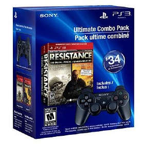 Resistance: Fall of Man & Resistance 2 - Dual Shock Pack (PS3)