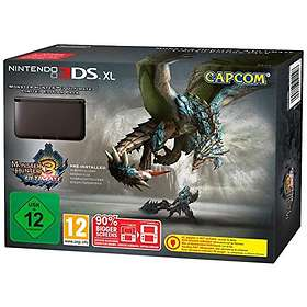 Nintendo 3DS XL (ml. Monster Hunter 3 Ultimate) - Limited Edition